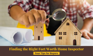 Finding the right fort worth home inspector Image, a guy with a lupe